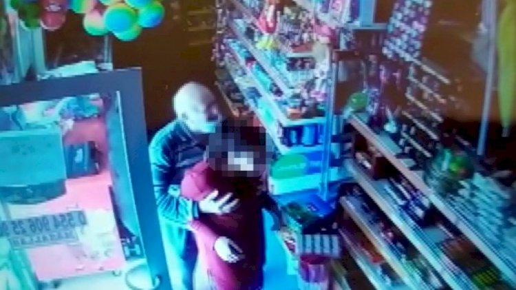85 yaşındaki tacizci 12 yaşındaki kızı markette istismar etti