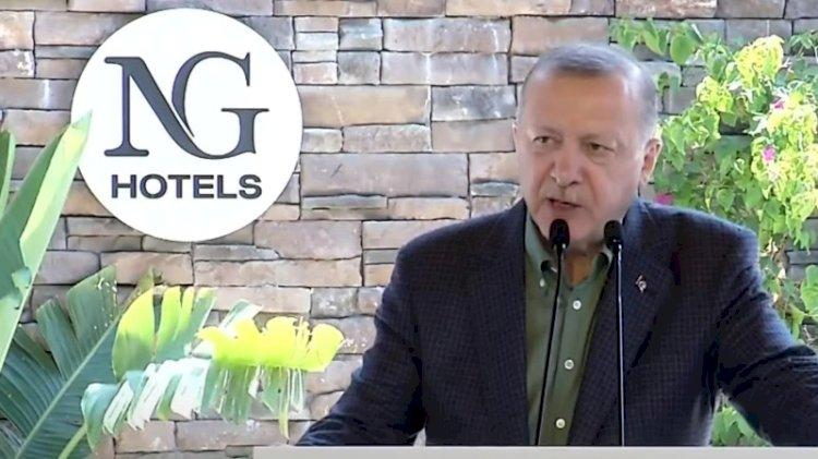 Erdoğan lüks otel açılışında konuştu: İnşallah yeni döneme giriyoruz