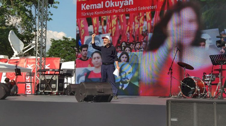 TKP Ankara'da miting yaptı