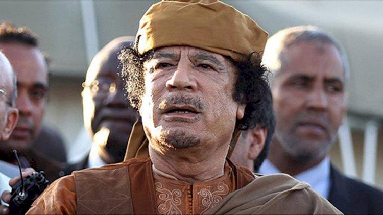 Büyük gerçek 10 yıl sonra ortaya çıktı! Sağ kolu, Kaddafi'nin ölmeden önceki son planını anlattı