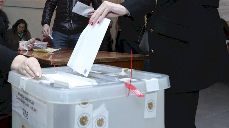 Ermenistan'daki seçimlerden ilk sonuçlar