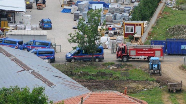 İYİ Partili Lütfü Türkkan'a ait kaçak çiftlikte tahliye işlemi