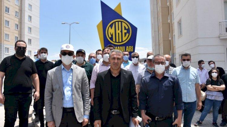 MKEK işçilerinden 'A.Ş' protestosu: Özelleştirmenin yolunu açar