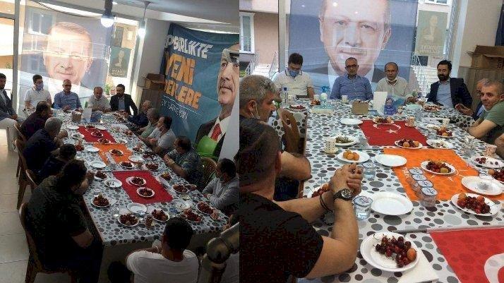 Türk Bayrağı'nı sofra bezi yaptılar!