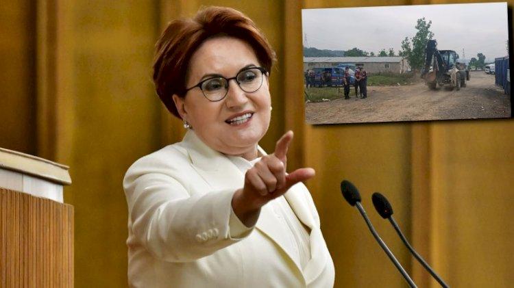 Akşener: Lütfü Türkkan'ın çiftliği üzerinden gagalanıyoruz