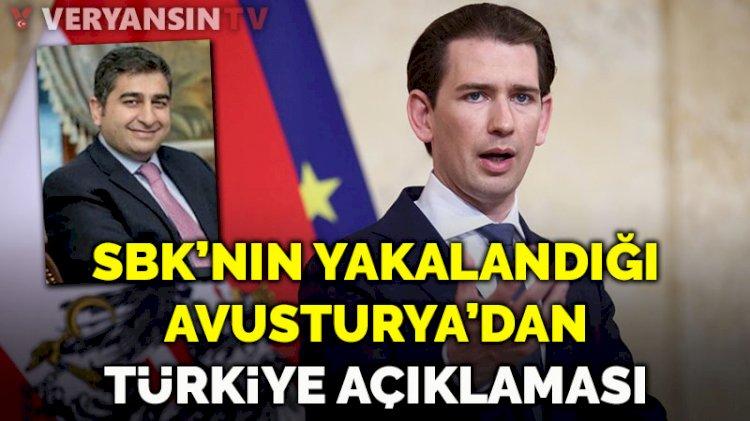 Sezgin Baran Korkmaz'ın yakalandığı Avusturya'dan kritik açıklama