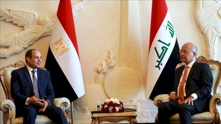 Mısır'dan Irak'a 30 yıl sonra ilk üst düzey ziyaret: Sisi Bağdat'ta