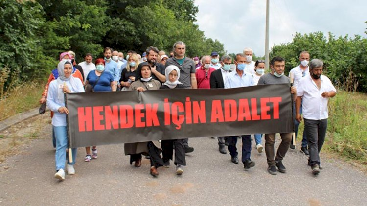 Hendek faciasında hayatını kaybeden işçiler anıldı