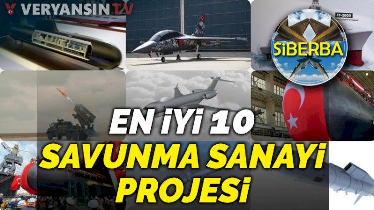 Türk savunma sanayi projeleri - En iyi 10 Türk savunma sanayi projesi