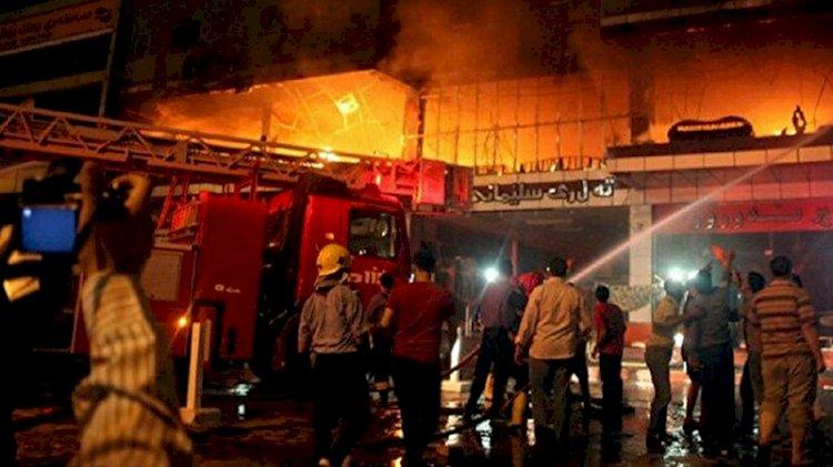 Irak'taki hastane yangını ile ilgili korkunç iddia