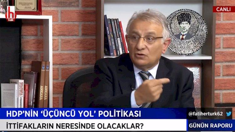 HDP'li vekilden Halk TV'de skandal sözler... PKK ile aralarına neden mesafe koymuyorlarmış?