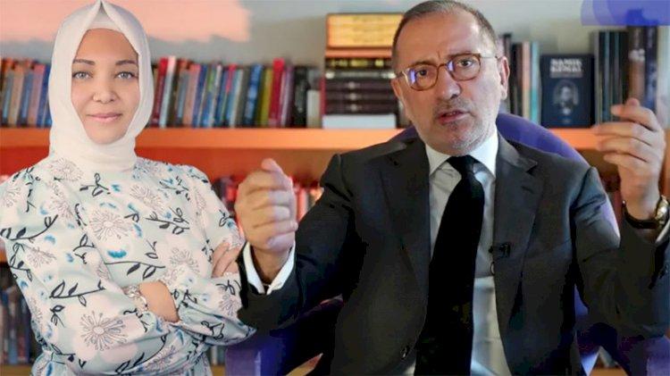 Fatih Altaylı'dan Hilal Kaplan'a: Görgüsüz, gazeteci falan değil…
