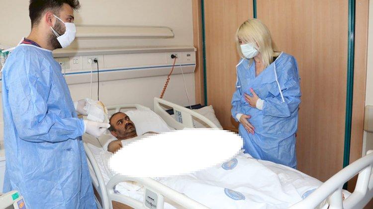 Türkiye'de çift kol nakli yapılan hastadan iyi haber