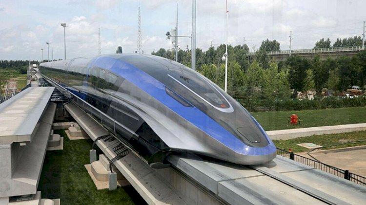 Çin, saatte 600 kilometre hıza çıkabilen maglev trenini tanıttı
