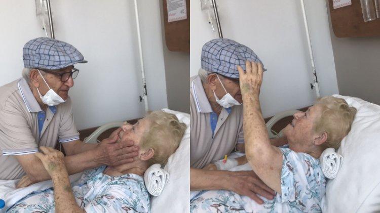 58 yılda ilk kez ayrı kalmışlardı: Duygulandıran buluşma