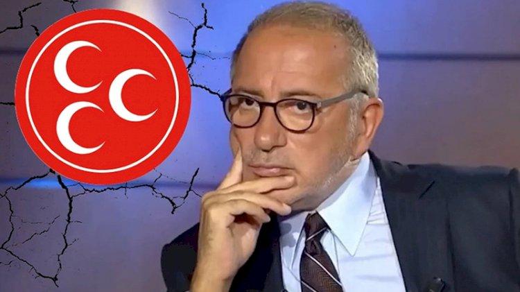 Bahçeli'nin danışmanından Fatih Altaylı açıklaması: Nöbeti bitirilmeli