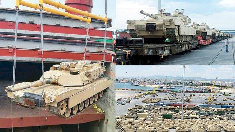 Burnumuzun dibine tank yığdılar... Amerikalı komutan: Bu bir dönüm noktası!