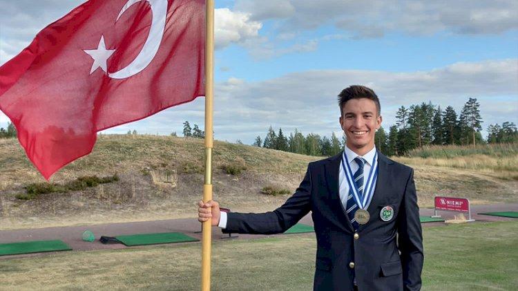 Milli golfçümüz Can Gürdenli bronz madalya kazandı