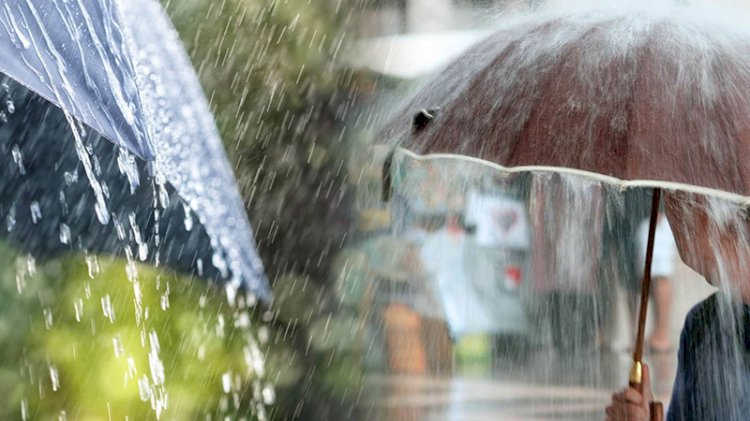 Meteoroloji'den 3 bölge için yağış uyarısı