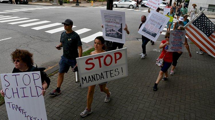 Dünyada aşı karşıtları sokaklara döküldü