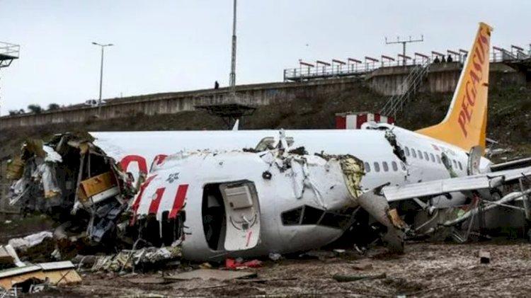 Sabiha Gökçen'deki uçak kazasına ilişkin rapor tamamlandı
