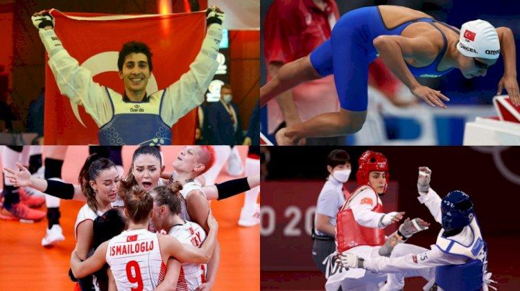 Tokyo 2020'de milli sporcularımızın sonuçları