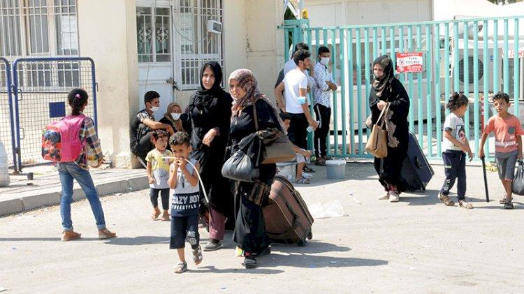 Suriyelilerin bayram tatili dönüşü başladı