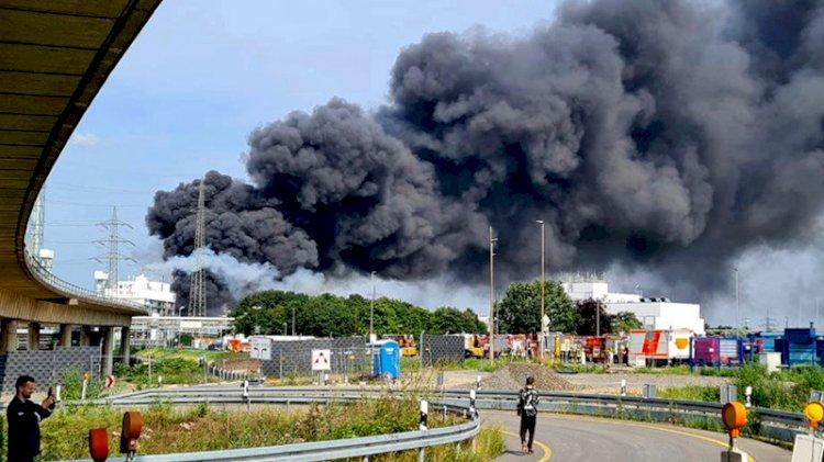 Almanya'da kimya tesisinde patlama: Yüksek tehlike uyarısı yapıldı