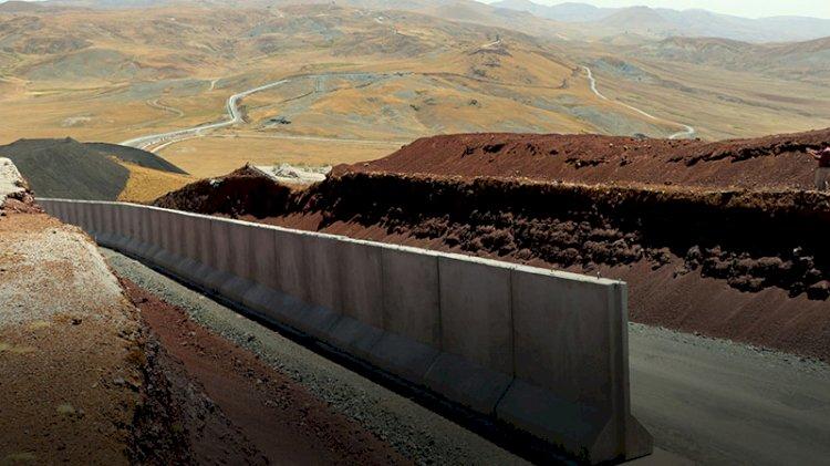 Afganlar için sınıra beton duvar