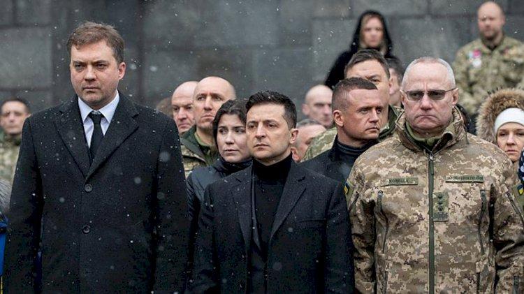 Ukrayna'da Genelkurmay Başkanı Homçak görevden alındı