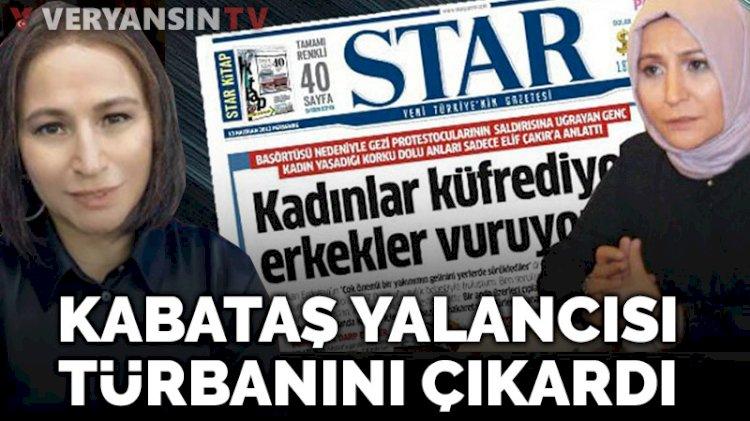 Kabataş yalancısı Elif Çakır türbanını çıkardı