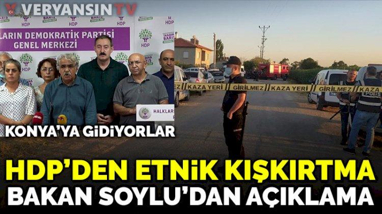 Soylu'dan Konya'daki katliama ilişkin açıklama
