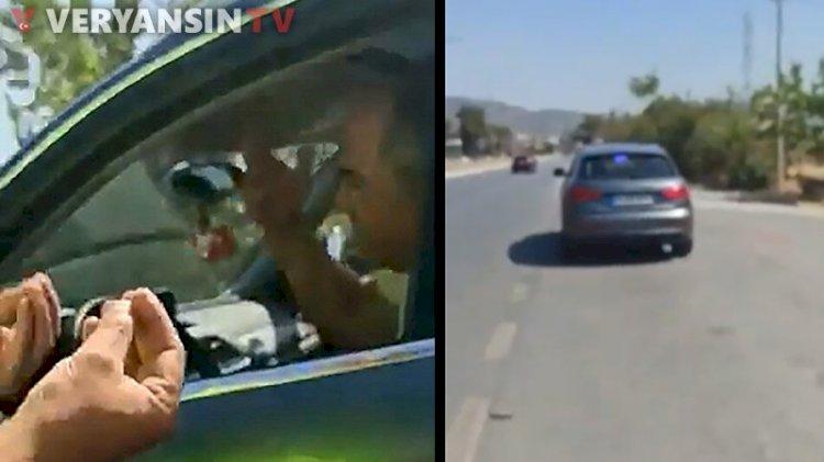 CHP'li vekilden aracını durduran trafik polisine sert sözler