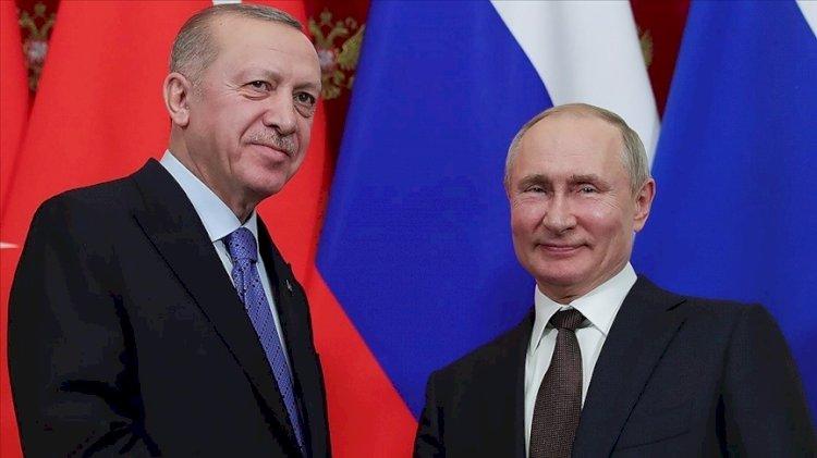 Erdoğan'dan Putin'e uçak teşekkürü
