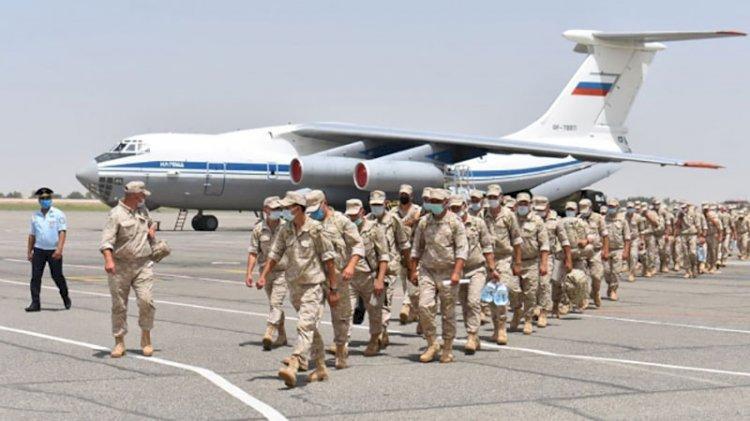 Rusya'dan Özbekistan ve Tacikistan'la ortak askeri tatbikat