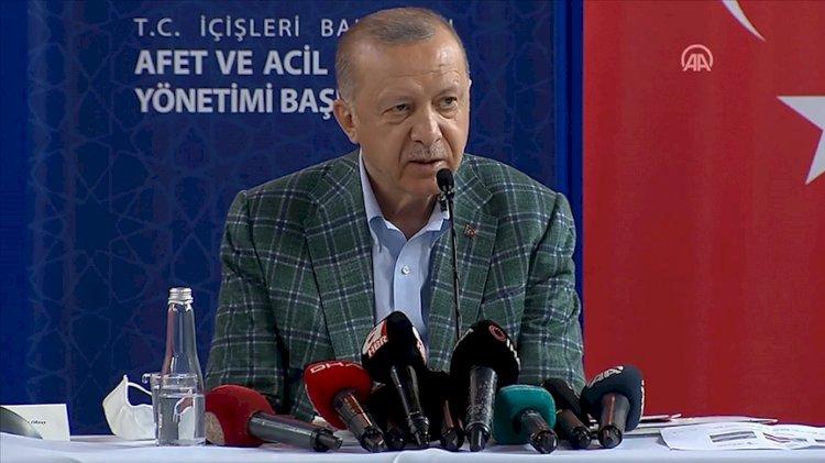 Erdoğan: Uçak sıkıntısının sebebi THK'nın filosunu yenileyememesi