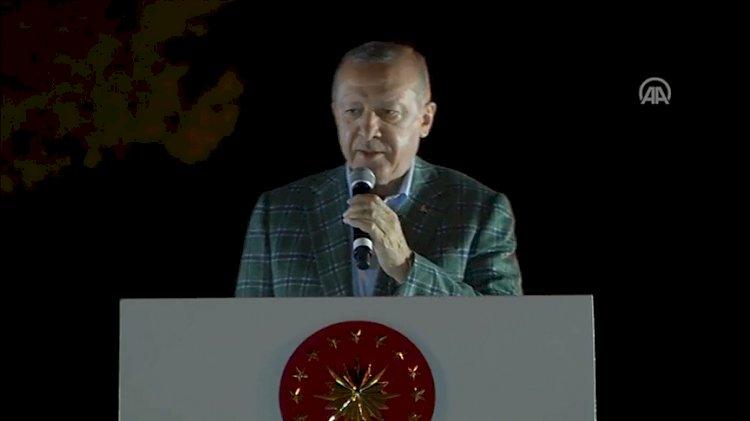 Erdoğan'dan orman yangınlarına ilişkin yeni açıklama