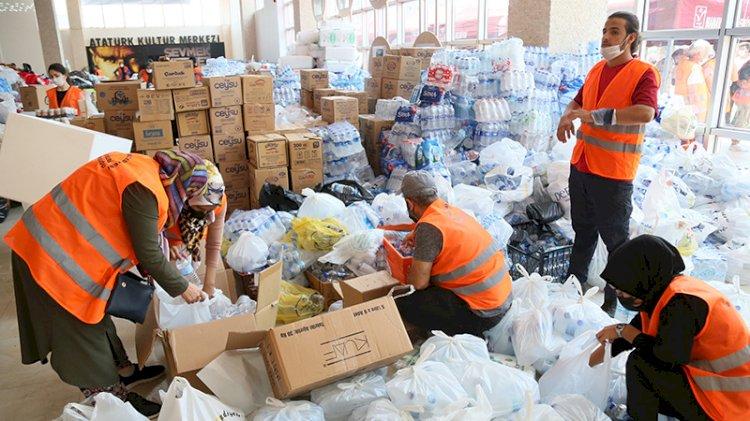 Türkiye Manavgat'ı yalnız bırakmadı: Anadolu'nun dört bir yanından yardım yağıyor
