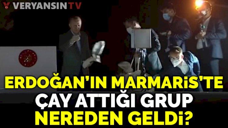 Erdoğan'ın Marmaris'te çay fırlattıkları kimler çıktı?