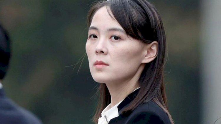 Kim Jong-un'un kız kardeşinden Güney Kore'ye uyarı!