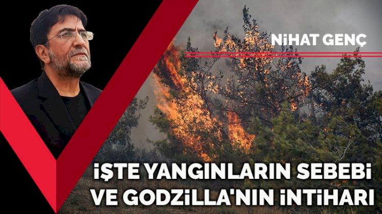 İşte yangınların sebebi ve Godzilla'nın intiharı