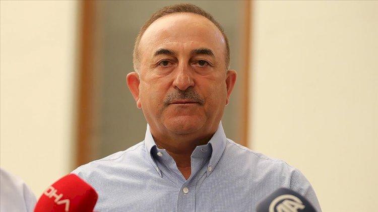 Bakan Çavuşoğlu: Fransa yardım teklifini geri çekti