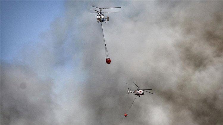 Bakanlardan devam eden orman yangınlarına ilişkin açıklama