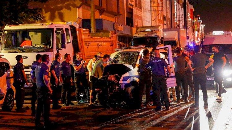 İzmir'de feci kaza... Polis memuru şehit oldu