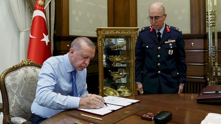 YAŞ kararları onaylandı... Kara Kuvvetleri Komutanı Org. Ümit Dündar emekli edildi
