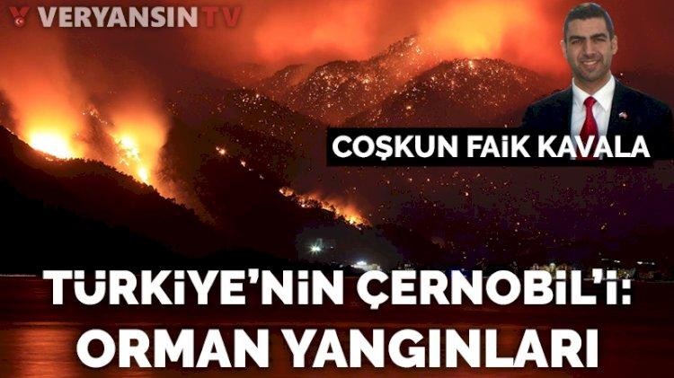 Türkiye'nin Çernobil'i: Orman yangınları