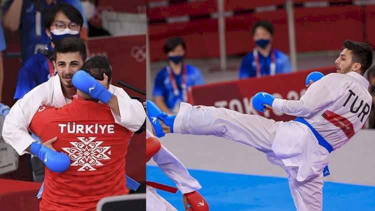Olimpiyat tarihinde karatedeki ilk madalyamızı Eray Şamdan getirdi!