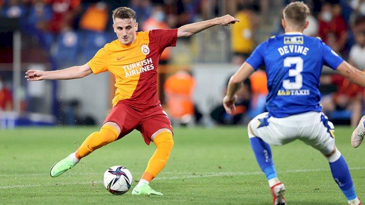 Galatasaray St. Johnstone ile berabere kaldı