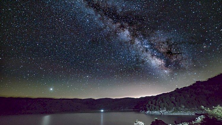 Nemrut Krater Gölü'nden nefes kesen görüntüler
