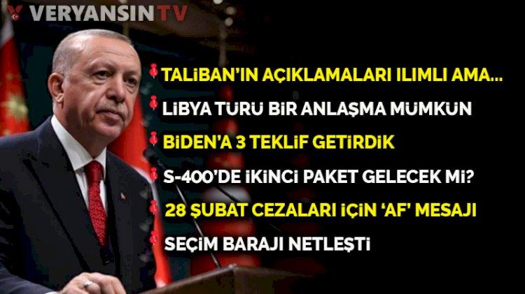Erdoğan'dan '28 Şubat cezaları' sorusuna yanıt